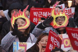 Samedi, plus d'un million de personnes ont de nouveau réclamé la démission de la présidente Park Geun-hye.