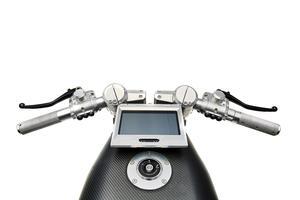 Une instrumentation digitale en forme de tablette.