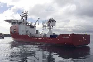 L'Ocean Shield, un navire australien équipé d'une sonde hydrophone américaine, participe aux recherches.