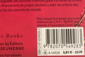 La première édition des Animaux Fantastiques coûtait 3,81€