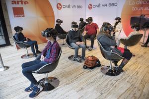 Initiation et parcours de VR à la Géode.