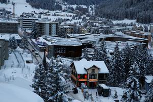 Le centre des congrès du Forum de Davos