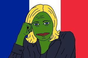 Marine Le Pepe.