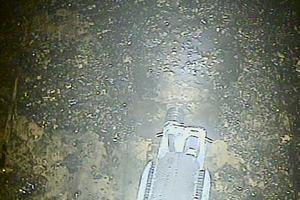Le robot à l'intérieur du réacteur 2.