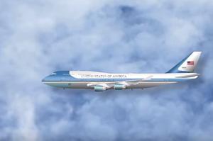 L'avion présidentiel américain fidèlement retranscrit