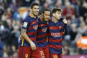 Messi, Neymar, Suarez: le meilleur trio offensif de la planète