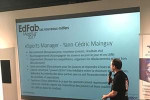 Yann-Cédric Mainguy, eSports manager