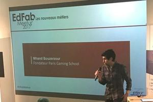 Mhand Bouzerzour, fondateur de la Paris Gaming School