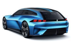 Peugeot Instinct concept.