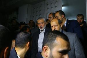 Ismaïl Hanniyeh, qui dirige le bureau politique du Hamas à Gaza.