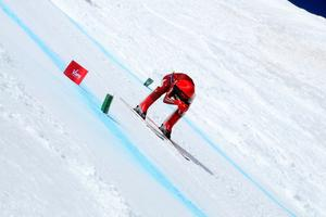 Ivan Origone, recordman du monde, à 254,958 km/h (C. Mathias-Tam Tam)