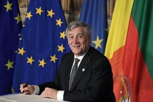 Le président du Parlement européen, Antonio Tajani.