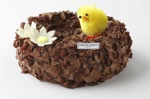 Le nid en chocolat deSébastien Gaudard.