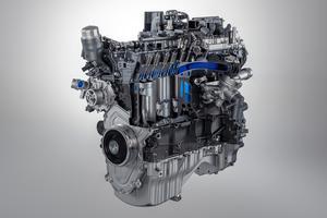 Pur produit maison, le 4-cylindres 2 litres développe 300 ch et 400 Nm de couple.