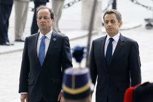 François Hollande avait accepté l'invitation de Nicolas Sarkozy en 2012.