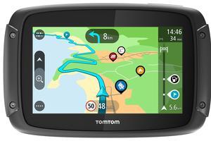 GPS TomTom Rider, 349 € à 499 €.