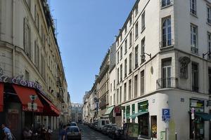 La rue de la Grange Batelière (IXe).