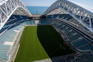le stade Fisht a été aménagé après les JO d'hiver 2014