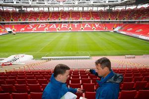 La Spartak Arena, inaugurée en 2014, d'une capacité de 45.000 sièges