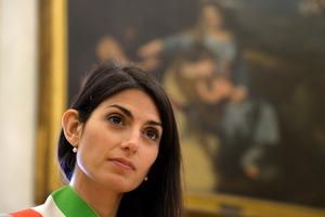 Virginia Raggi, maire de Rome