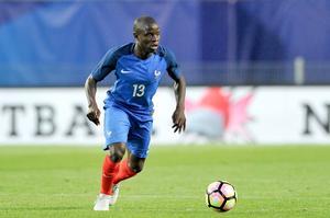 N'Golo Kanté, sous le maillot des Bleus