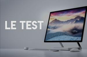 Test du Microsoft Surface Studio.