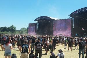 La 12e édition du Hellfest a réuni près de 55.000 personnes.