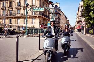 Les utilisateurs de scooters en libre-service sont encore majoritairement masculins.