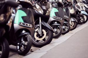 L'esthétique des Gogoro tranche singulièrement au sein du parc actuel de scooters.