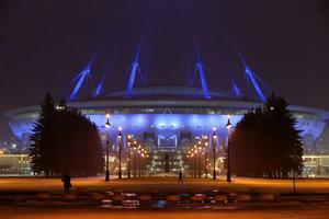 L'arena Zenith de Saint-Petersbourg