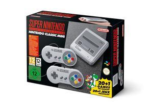 La boîte de la Super Nintendo Mini