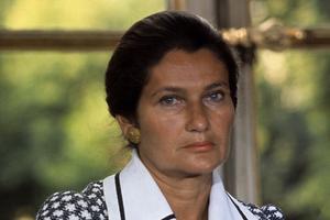 Simone Veil à la veille d'un long combat en juin 1974.