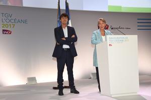 Nicolas Hulot et Élisabeth Borne
