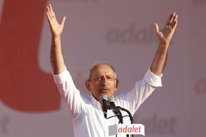 Kemal Kiliçdaroglu, le chef du Parti républicain du peuple (CHP), dimanche 9 juillet 2017, à Istanbul.