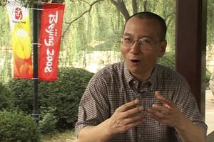 Liu Xiaobo lors d'une interview accordée à Associated Press en juillet 2008.