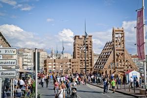 La ville éphémère à Marseille.