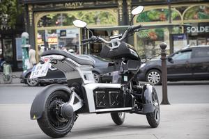L'Ego 2 est le scooter qui a le plus attisé la curiosité des passants.
