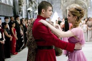 Hermione Granger et Viktor Krum.