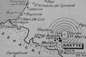 La carte su séisme parue dans Le Figaro du 15 août 1967.