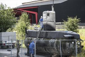 Le sous-marin <i>Nautilus</i>.