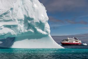 Le MS Fram en Arctique (Andrea Klaussner)