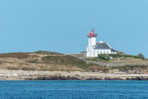Le phare de l'Île Wrac'h est aujourd'hui automatisé.