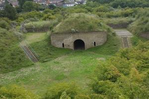 Le fort des Dunes, à Leffrinckoucke, près de Dunkerque.