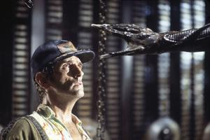Harry Dean Stanton en mécanicien râleur dans «Alien».