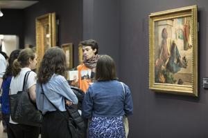 Les étudiants l'École du Louvre apporte un autre regard ©Sophie Crepy Boegly