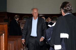 Patrice de Maistre, au tribunal de Bordeaux le 28 mai 2015.