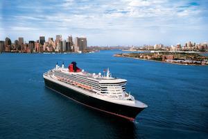Queen Mary 2 à New-York (Cunard)