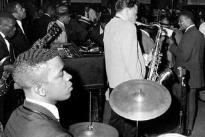 Un cabaret à Harlem dans les années 60.