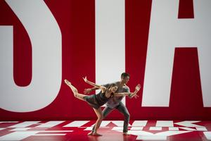 <i>Reflections Redux</i> - L.A. Dance Project de Benjamin Millepied et Barbara Kruger.