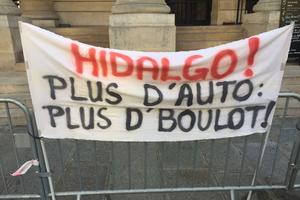 Un des slogans de cette journée. Crédit photo: P.Z
